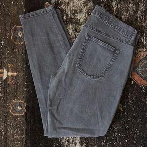 GAP 1969 Dark Gray Skinny Legging Jean